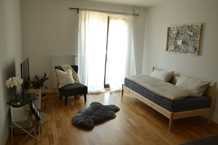 Great flat next to the fair and the skyline plaza - Frankfurt am Main
