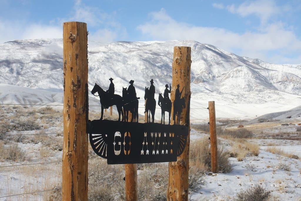 The Ranch Entrance