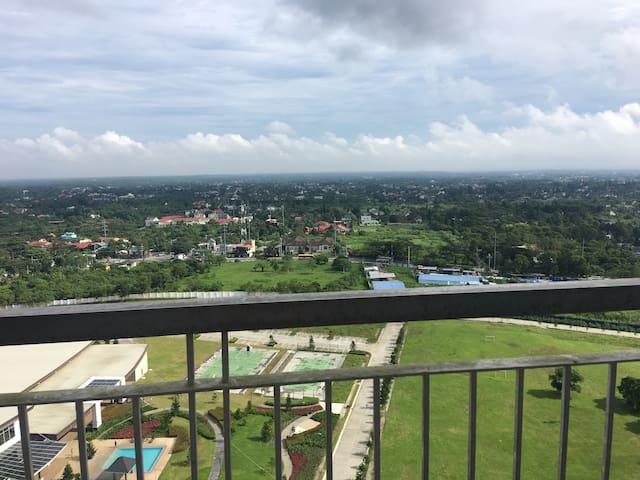 Tagaytay condo and resort with balcony