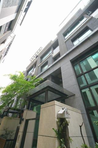 近台科大高檔市區電梯別墅稀有独立大套房