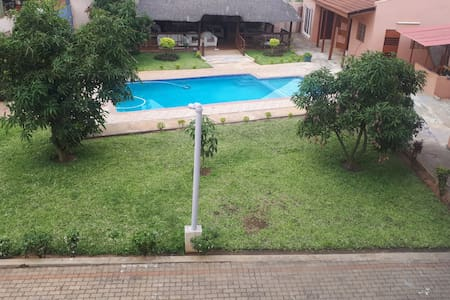 Maputo Home in beautiful Garden with Pool & Games