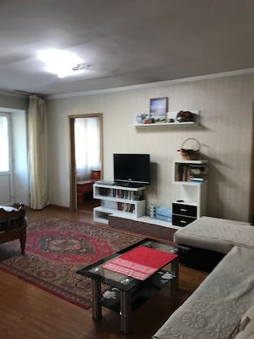 Entire studio apartment with Wi-Fi