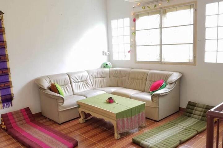 En-suite room in beautiful modern Thai house