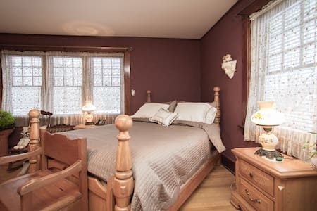 #1 | Master Bedroom in Charming ANCESTRAL HOME - Stanstead