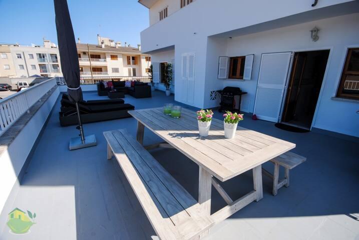 BLUE ISLAND apartment in puerto Alcudia, 8 people, - Puerto Alcudia - Apartament
