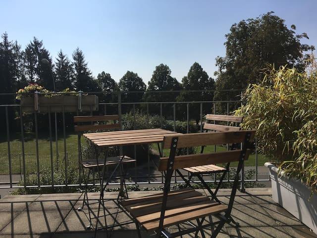 2 Zimmerwohnung mit Terrasse - Langendorf - Leilighet