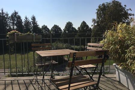 2 Zimmerwohnung mit Terrasse - Langendorf - Lejlighed