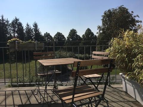2 Zimmerwohnung mit Terrasse