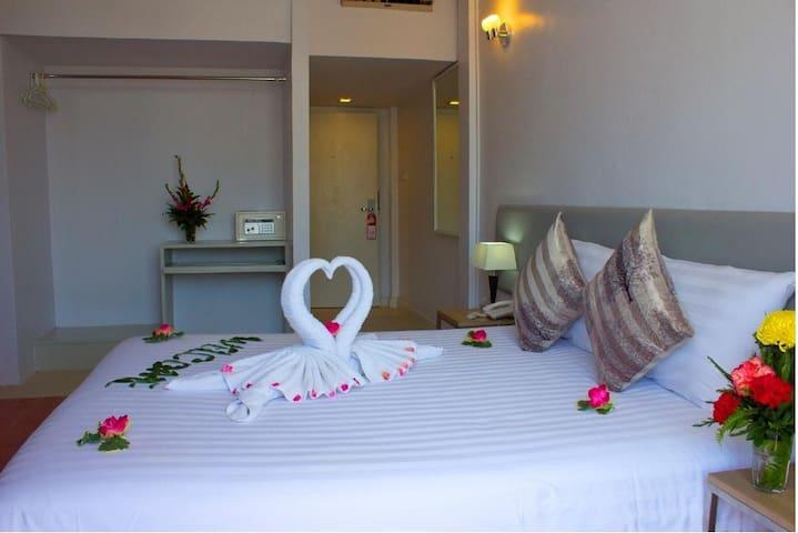 On Hotel Phuket(Nearest to the beach)Economy