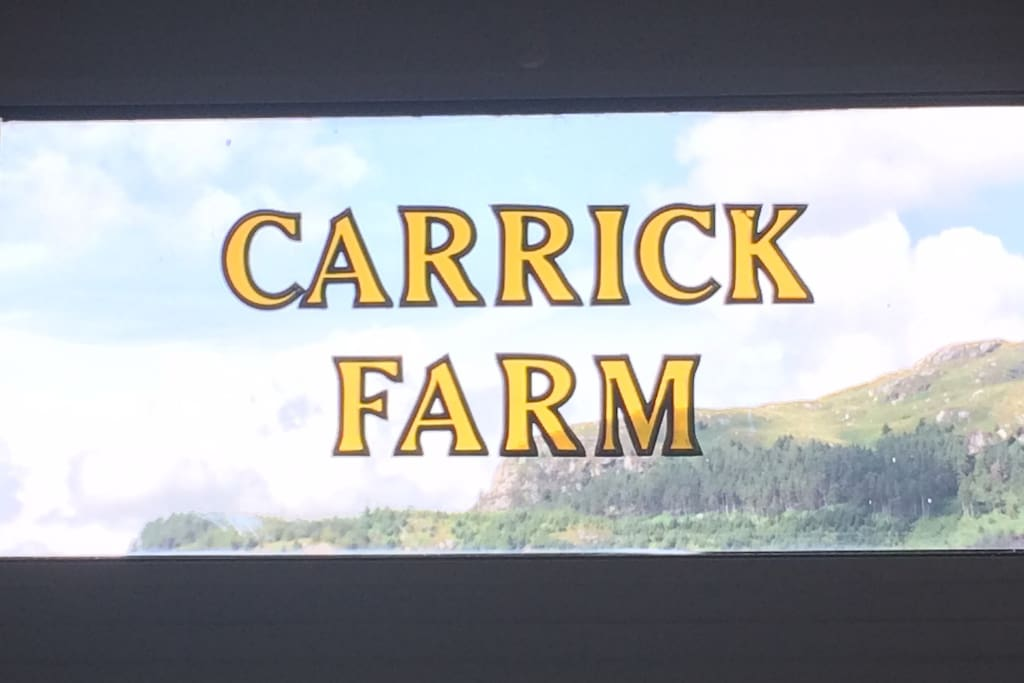 Carrick Farm House Door!! You are in right place