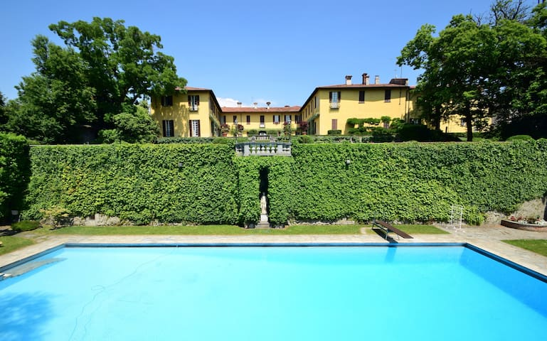 La Vescogna, historic country house - Calco Superiore - Casa de camp