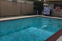 Pool isn't heated but oh so refreshing during the Summer months.