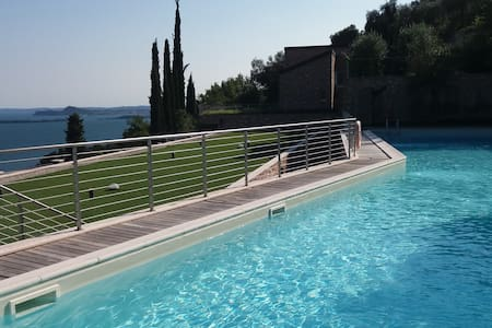 Amazing view on Garda Lake with design pool - Toscolano-Maderno - 公寓