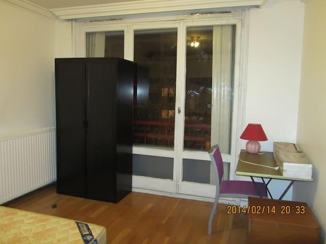 2 personnes 20 mn Châtelet/Halles - Villeneuve-la-Garenne - Appartement