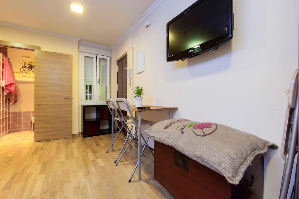 Estudio malasa a palma appartamenti in affitto a madrid - Riscaldamento alternativo in casa in affitto ...