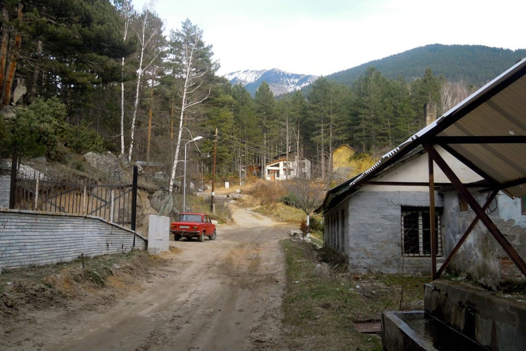 On the edge of the Pirin National Park
