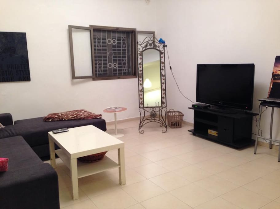 Spacy  airconditioned Living room