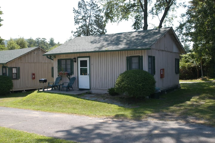 Antique log cabin