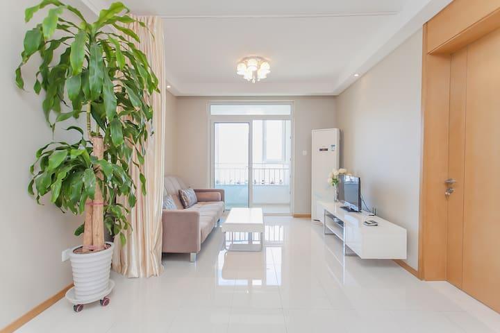 青岛市南区一线海景一室一厅公寓 - 青岛 - Apartamento