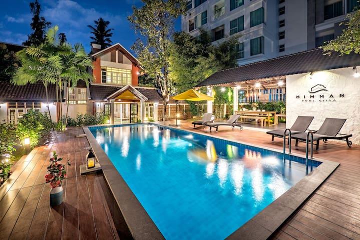 BEST RATE!!Luxury Pool Villa in NIMMAN 5-mins MAYA
