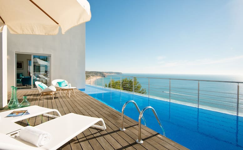 Villa Mar Azul - 6 Bedrooms sea view and pool - Budens - House