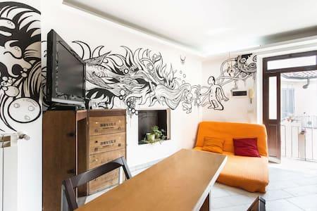Trendy Pop House on the Naviglio - Milano - Apartment