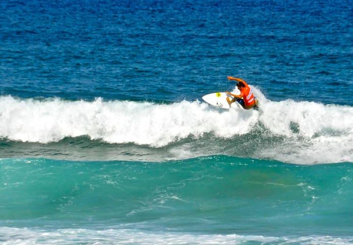 Playas para surf (40min)