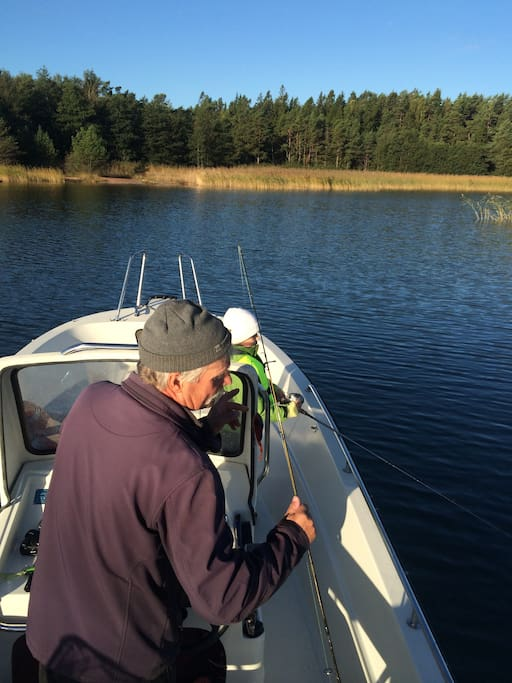 You can book fishing trips with our friendly fisherman!