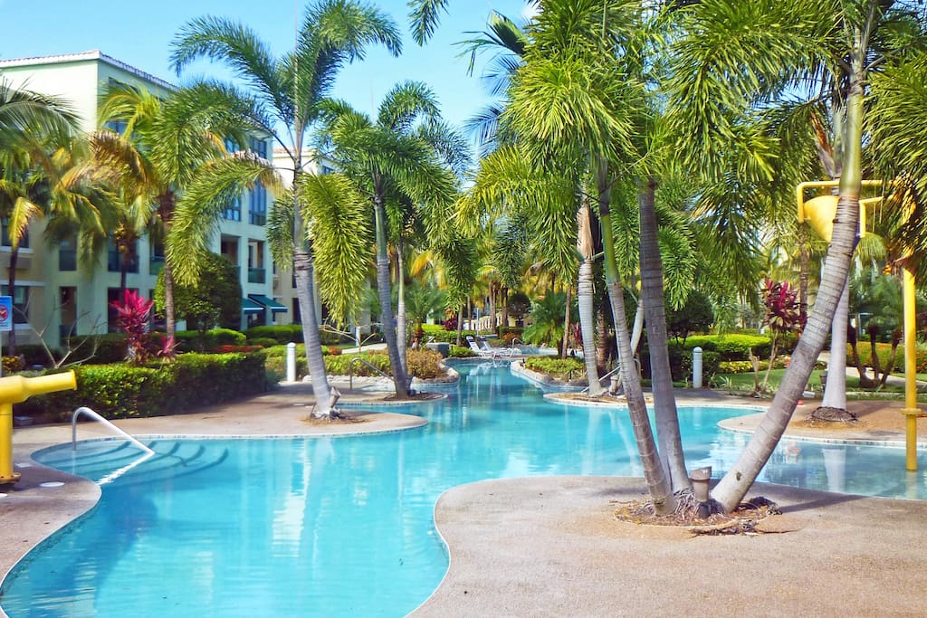 Pools, Pools and more pools! This is the beginning of the river pool…... - Loiza apartment rental