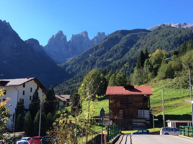 Lovely apartment in the Dolomites - Piè Falcade - Pis