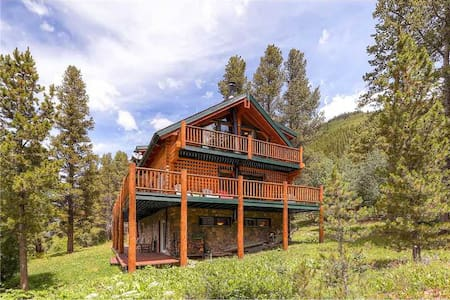 Log Cabin/Mountains/Mins from Breck - 蓝河(Blue River) - 小木屋
