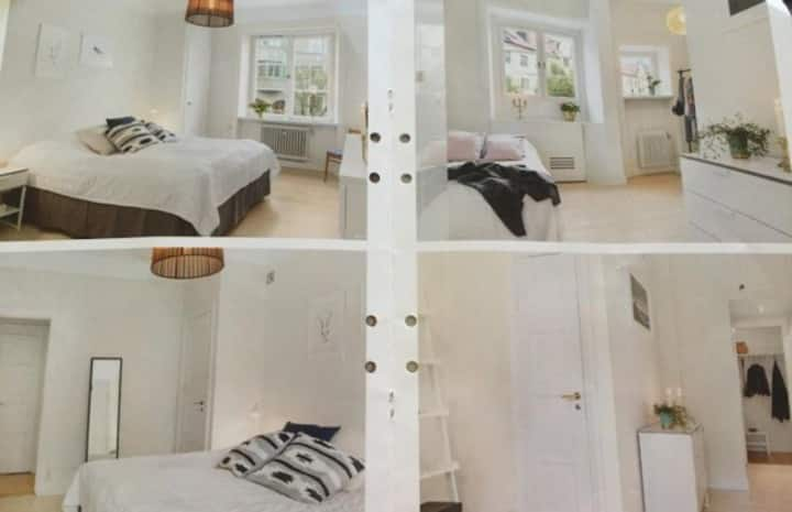 72 kvm apartment 3 rooms Vasastan