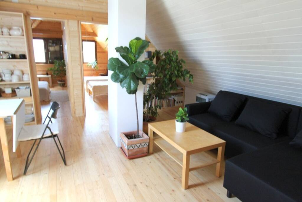 Living room area / Nappali