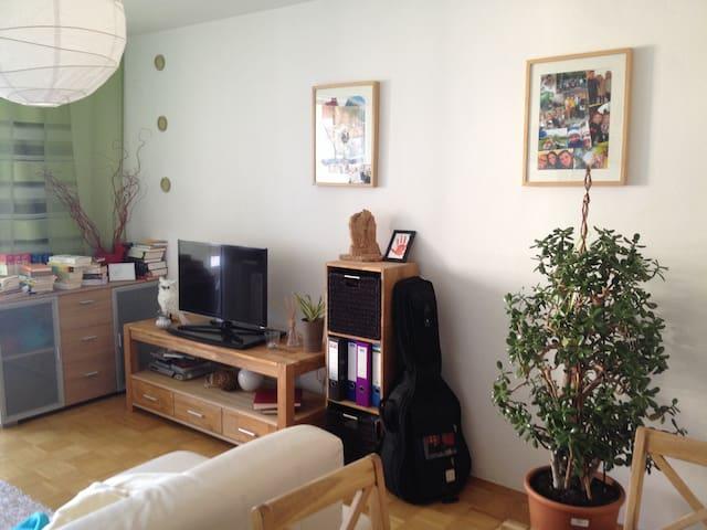 Schöne Wohnung 2 Zimmer Nähe SBahn - Unterföhring - Apartemen