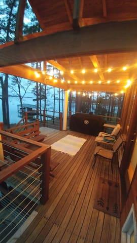 View of Upper Deck porch
