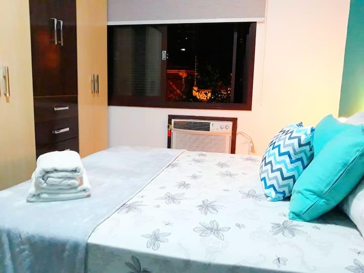 O apartamento mais completo com Net/Wi-Fi...Top!!!