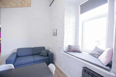 Квартира 2 в историческом центре Иркутска