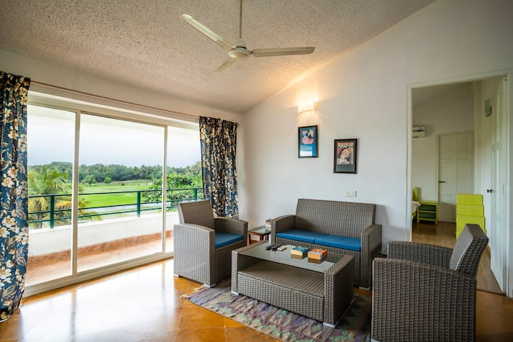2 BHK Apartment with a Swimming Pool
