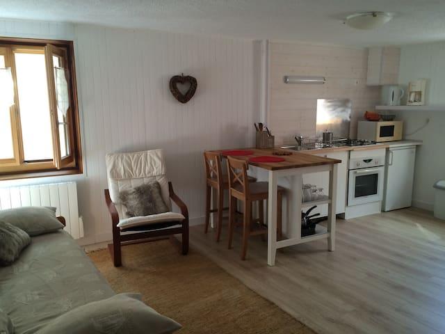 Studio à Ceillac en Queyras