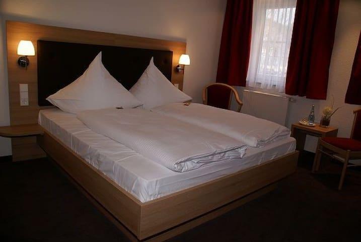 Hotel Rössle, (Altensteig), Doppelzimmer Standard mit Dusche und WC