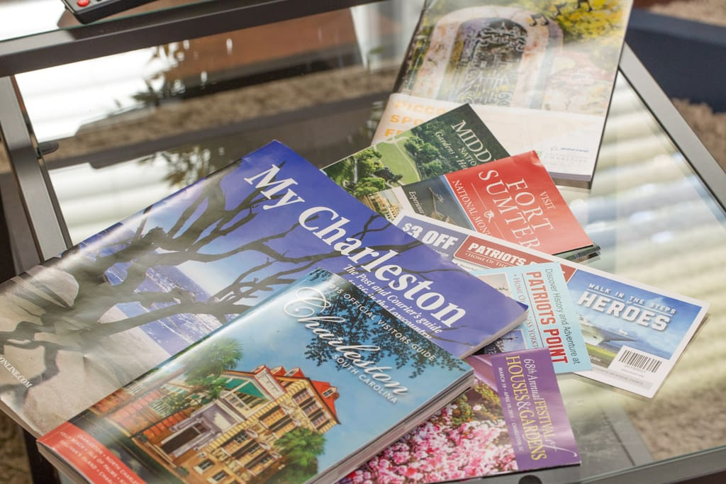 Visitors guides and helpful brochures are always on hand, to help you navigate the city.
