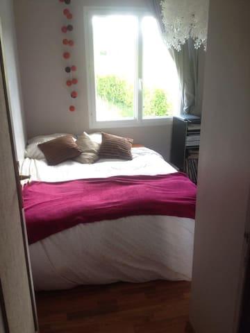 petite chambre cosy - Lampaul-guimiliau - Casa
