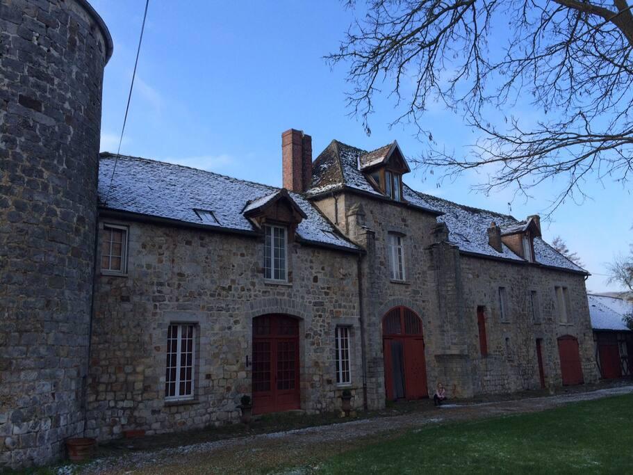 Le chateau en hiver / Winter time