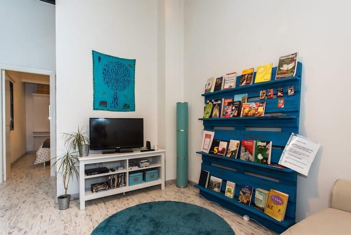Wifi, air conditioning and quiet at Puerta Osario