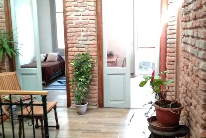 Habitación individual en un ambiente excepcional