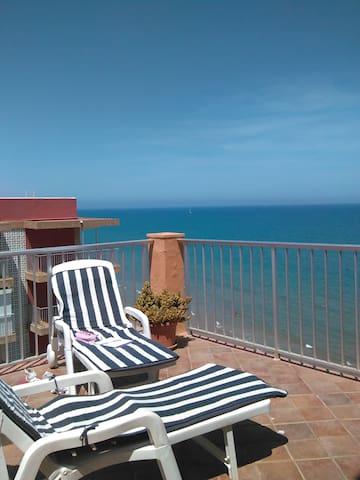 Superbe appartement  front de mer