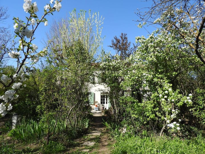 Aix Appart. 32m² jardin sauvage,Loggia.9m²,parking
