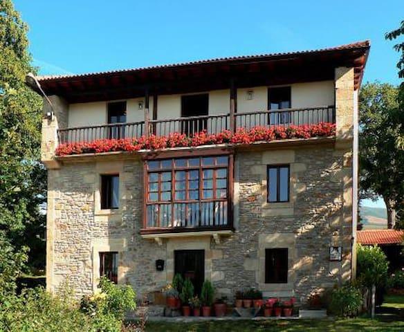 Habitación doble en casa rural - Quintana de los Prados - Hus