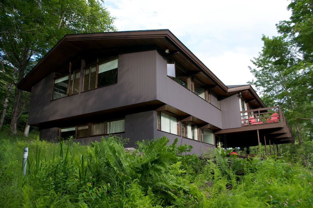 house view side/back