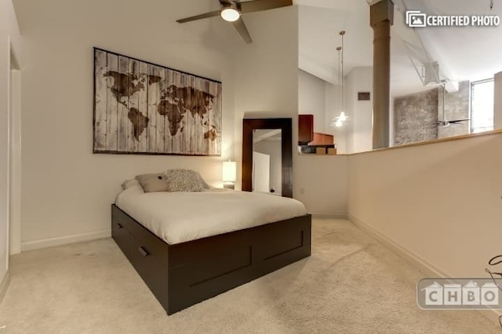 Amazing warehouse condo for your long term stay!